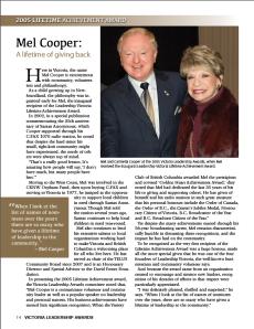 Mel Cooperfeature-2014 VLA